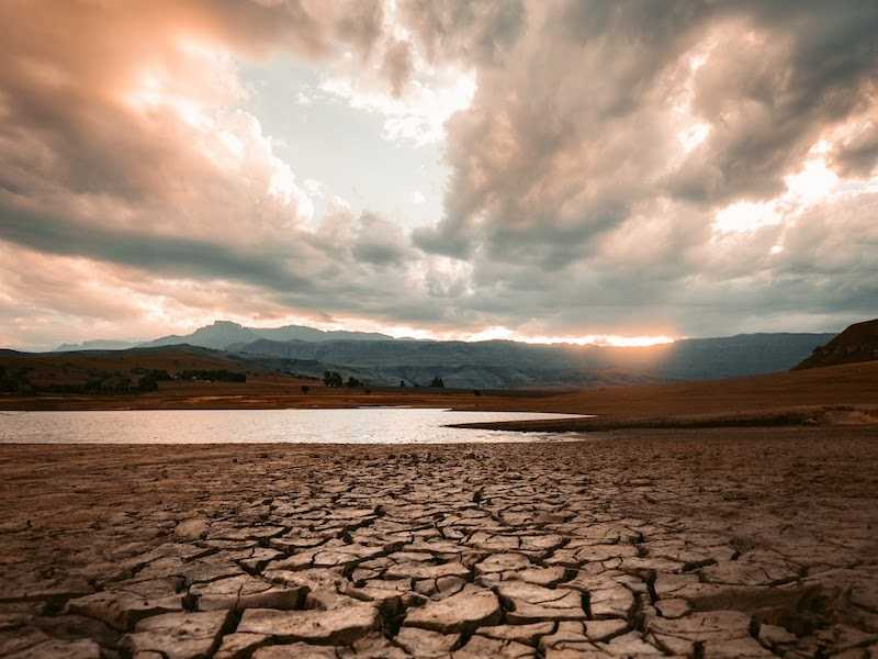 Severe droughts lead to decreased water security