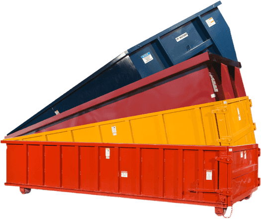 Roll off dumpster rentals – 10 to 40 cubic yard dumpsters