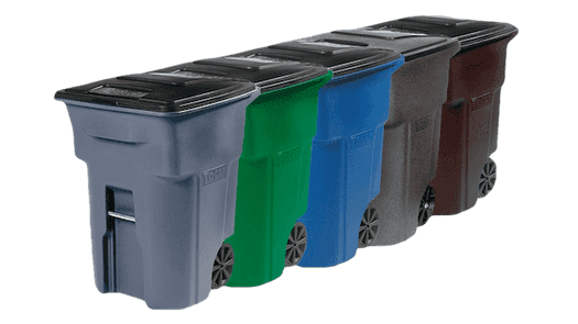 Residential dumpster rentals, trash pickup, and recycling