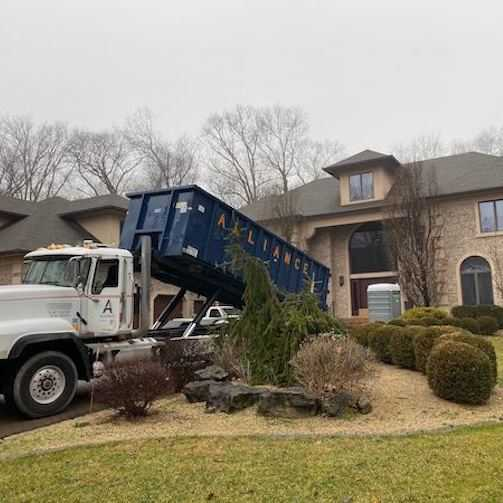 Green Waste Management Dumpster Rental in Bergen County New Jersey